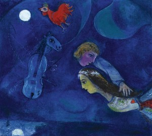 le coq rouge-chagall